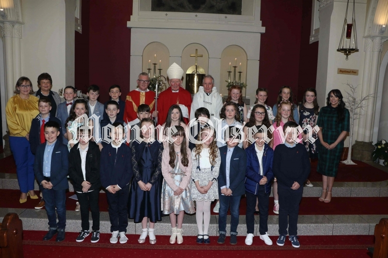 CONFIRMATION FOR PUPILS FROM CARRICK PRIMARY SCHOOL BURREN