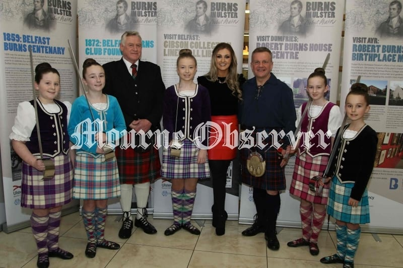 Dancers-from-Kirknarra-School-of-Dance-with-James-Stevenson-piper,Kathryn-Stewart-Tutor-and-David-Scott-MC