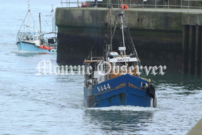 Two-Fishing-Boats-back-in-Kilkeel-Harbour