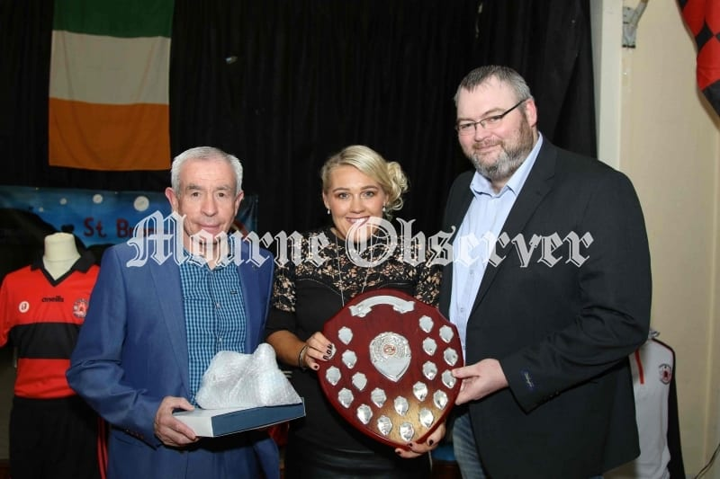 Club-Person-of-Year-Tracey-Rice-receiving-her-award-from-Pete-McGrath-and-Chairman-Ciaran-Sloan