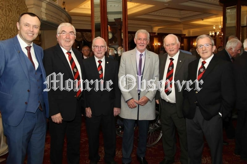 Danny-Kelly-Down-keeper-1968-with-Rostrevor-Club-Men-and-Mark-McCartan-Carryduff