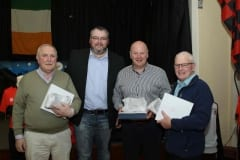 Chairmans-awards-went-to-Brian-Fegan,-Gerard-Tinnelly-and-Pete-Farrell-presented-by-Ciaran-Sloan