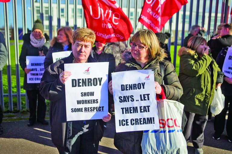 Workers at Bangor factory in pay dispute