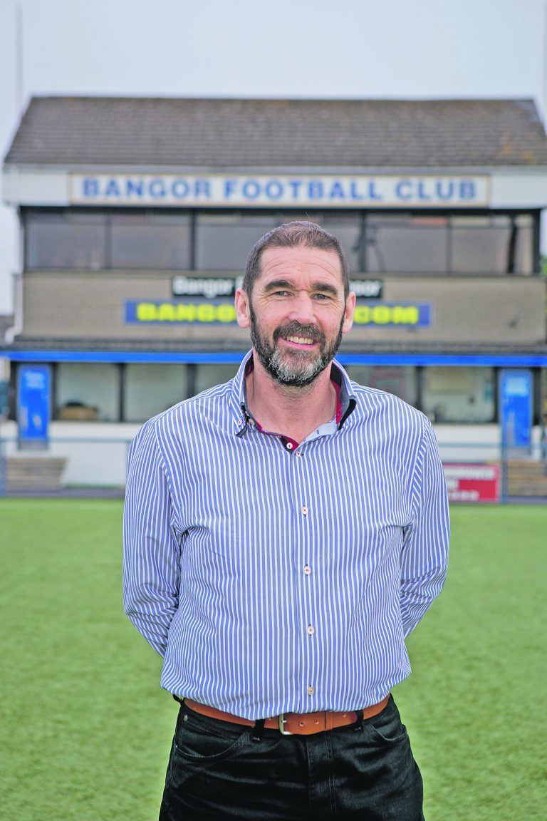 Hugh Sinclair frustrated as Bangor draw