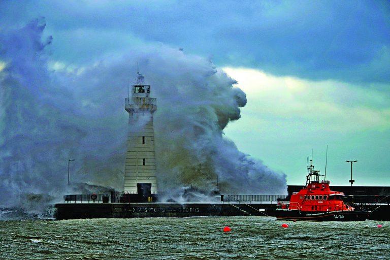 Storms crash into North Down