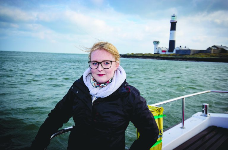 Hannah's battle to save lighthouse