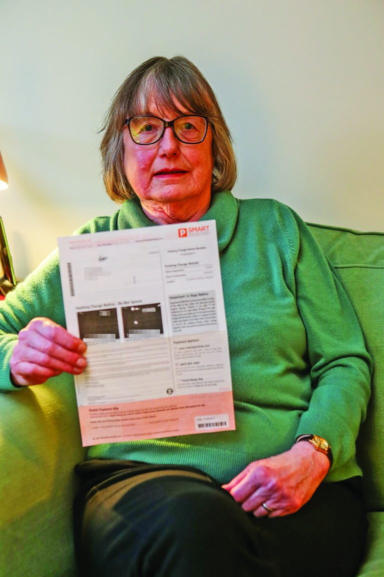 Pay and dismay for Bangor pensioner