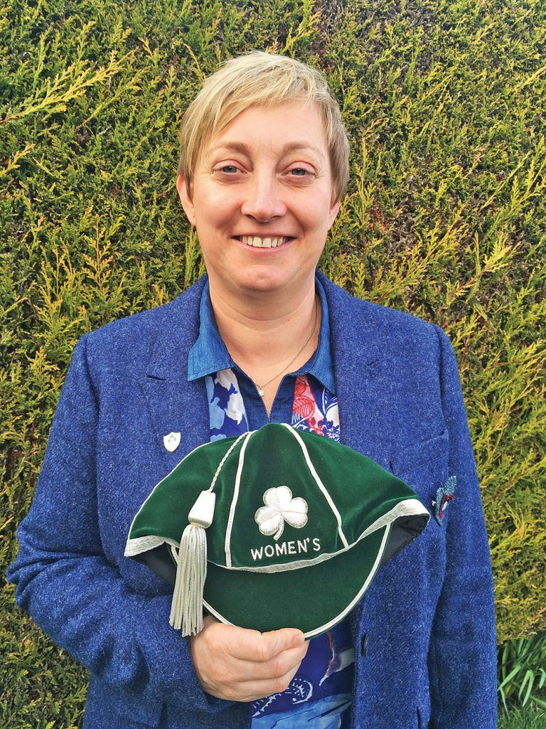 Bangor rugby star finally collects her Ireland caps