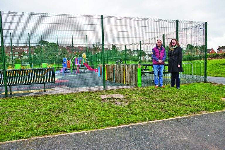 Playpark slides into trouble after raw sewage pours in