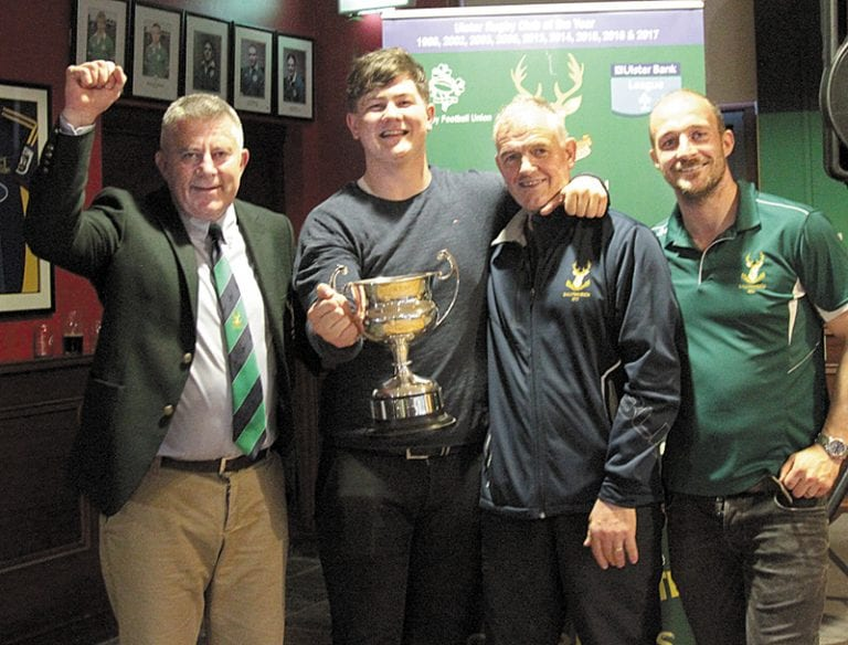 Ballynahinch Rugby holds end of season awards night