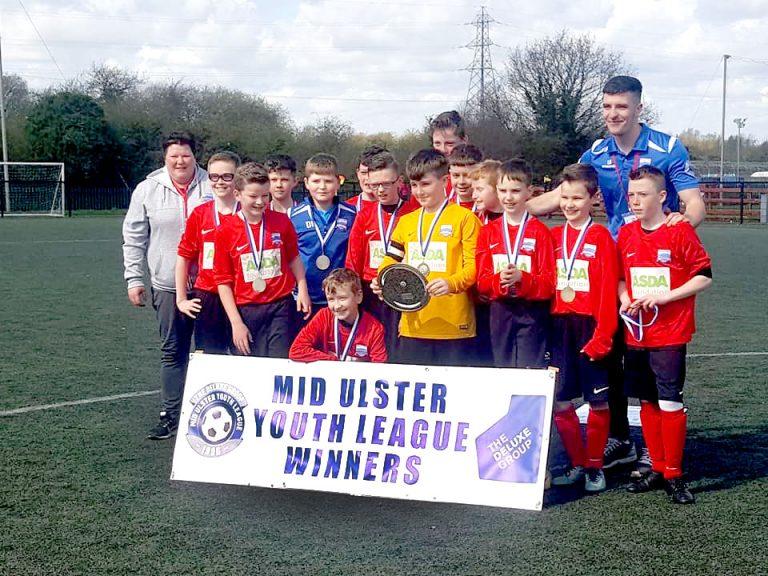 Ballyvea U-13s triumph in Mid Ulster Plate decider