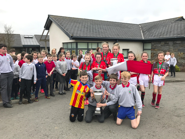 St Patrick's PS are double national champions