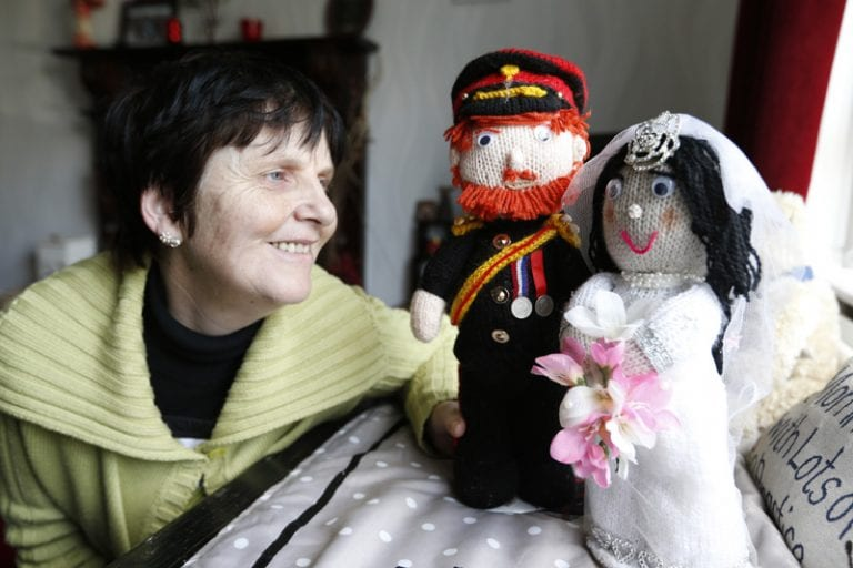 Ballynahinch woman's labour of love ahead of the Royal wedding