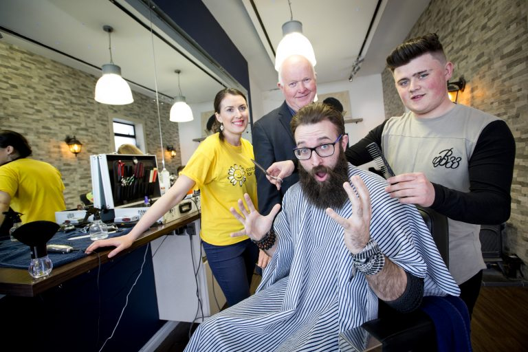 Dominic to brave the shave for charity