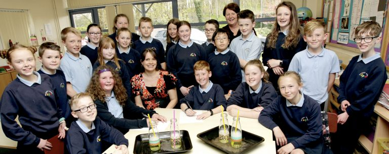 Pupils support family's campaign by writing to the Prime Minister