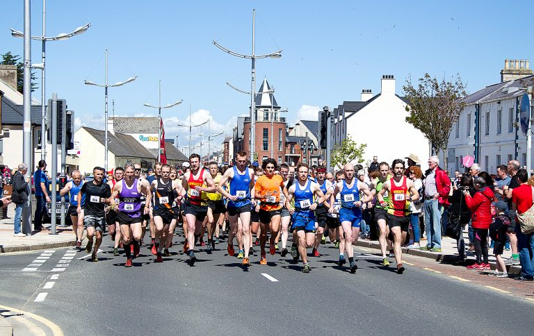 Lynch claims victory in Slieve Donard Race and O'Kane makes it five