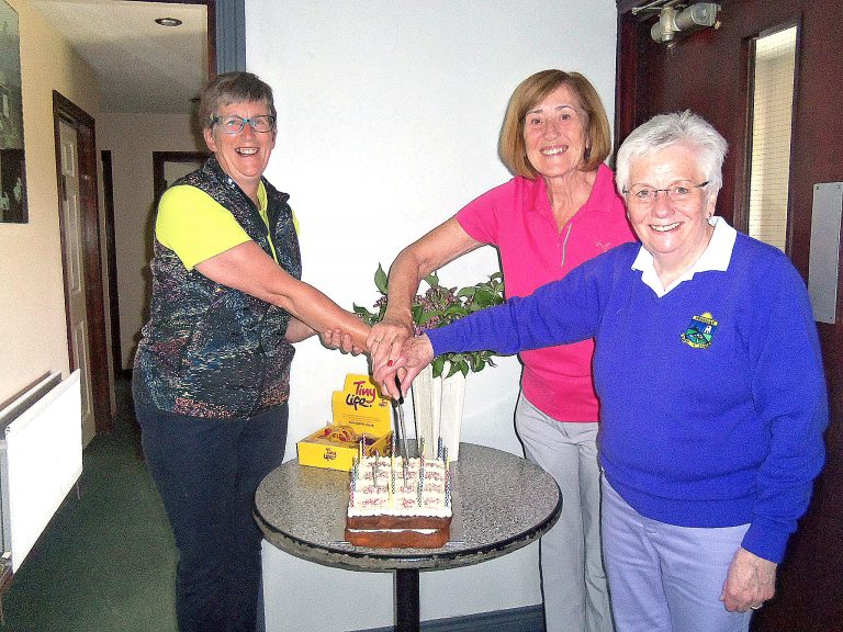 Crossgar Golf Club stages 25th anniversary competition