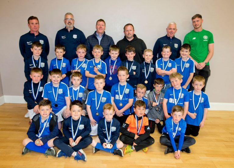 Ballynagross young players in the spotlight at awards night