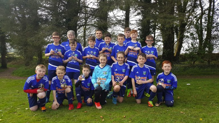 Annalong FC and Ballynahinch Youth teams compete in Scottish tournament