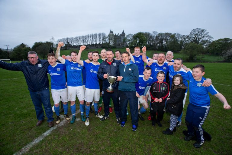Ballynagross are champions and they're not finished yet