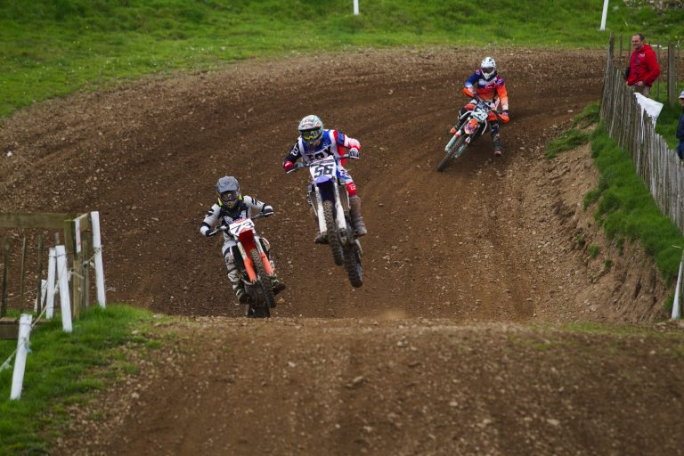 Round two action from the Ulster Motocross Championship at Seaforde