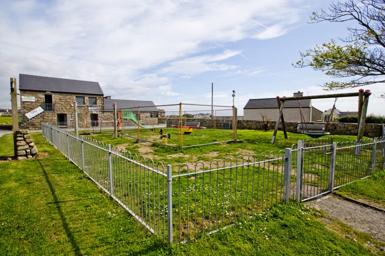 Villagers annoyed at receiving 'second-hand' play equipment