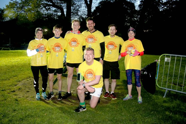 Fantastic support for Darkness Into Light event in Rostrevor