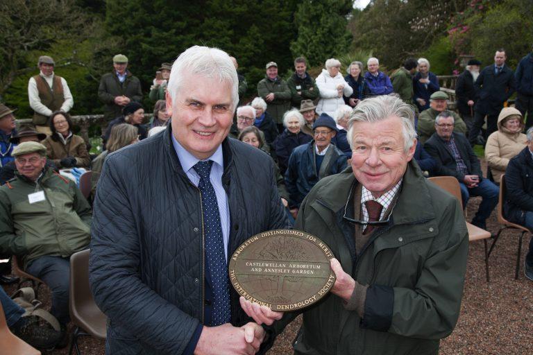 Prestigious international honour for Arboretum and Annesley Garden