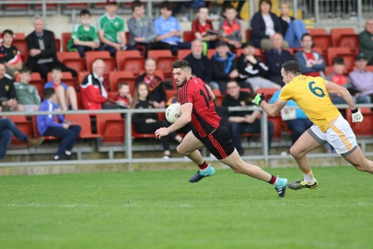 Victorious Down too strong for Antrim