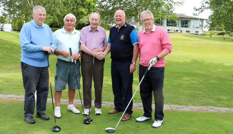 Spa members chase honours on Captain's Day