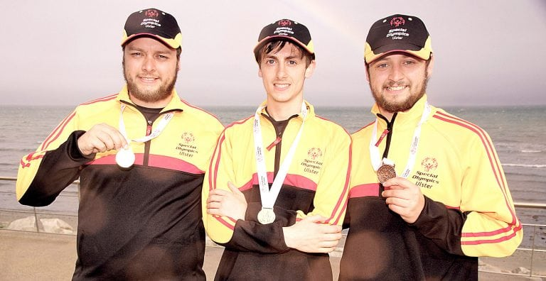 Team Ulster medal winners