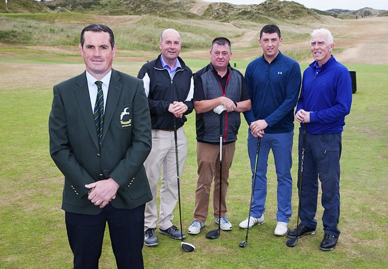 Emlyn Williamson's Captain's Day competition at Mourne club