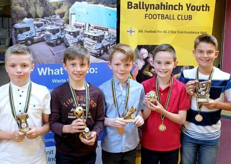 Ballynahinch Youth presents end of season awards