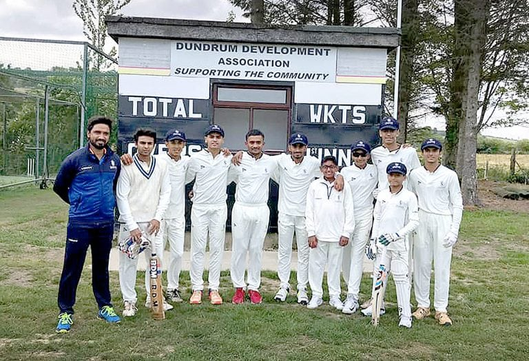 Dundrum club hosts Indian touring team Legends Cricket Academy