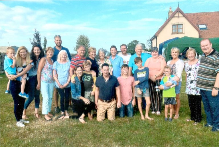 Family gathers in Mourne for special anniversary celebrations