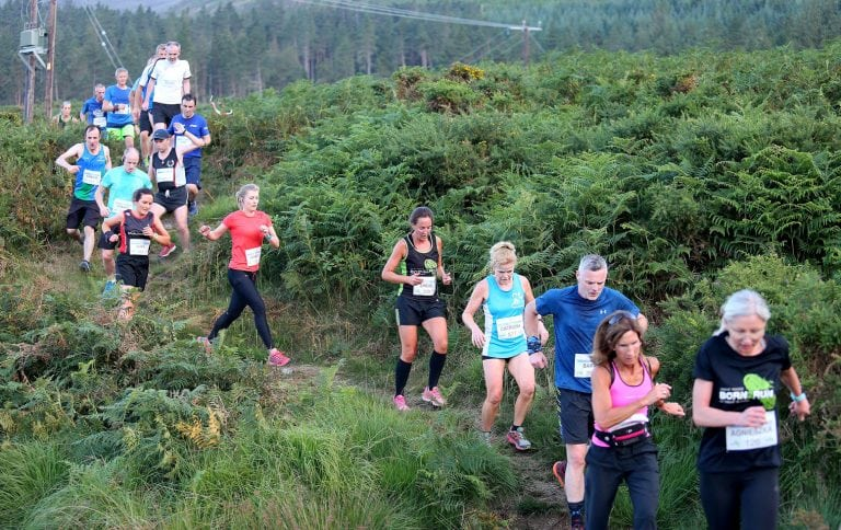 800 runners set off from Newcastle in Sea2Sky race