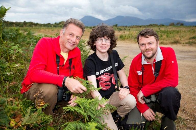 Chris Packham visits Murlough for Bioblitz campaign