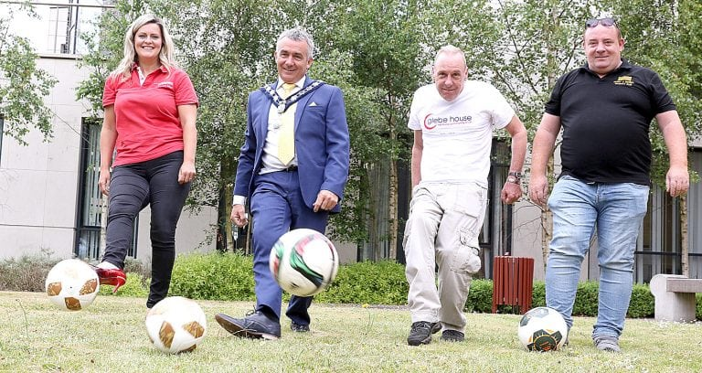 Council chairman kicks off his charity fundraising year