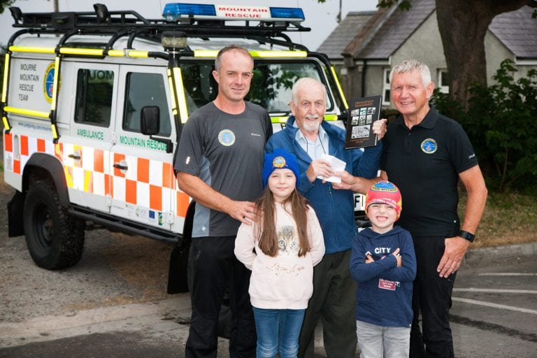 Book about Belfast school raises funds for mountain rescue team