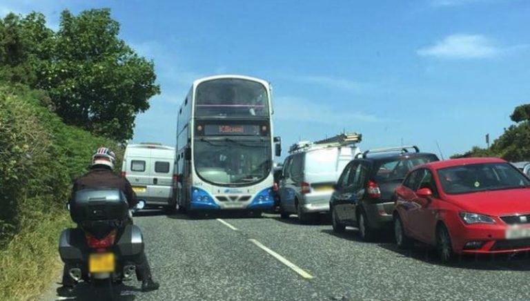 Irresponsible parking at Bloody Bridge continues