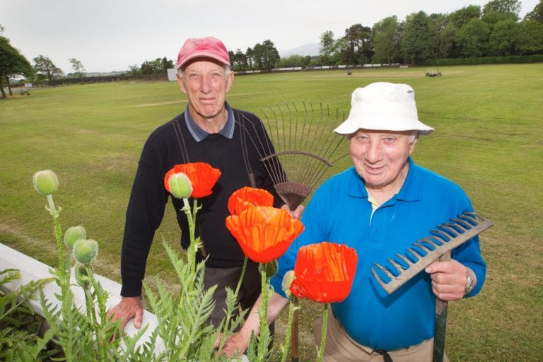 Dundrum Cricket Club voluntary groundsmen kept busy