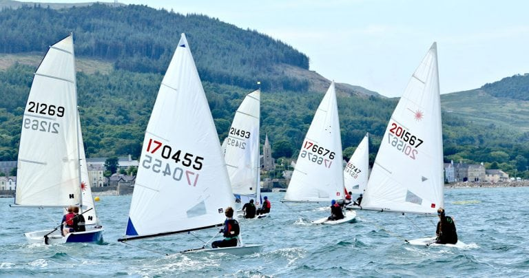 Laser, Topper and Mirror Championships at Newcastle YC