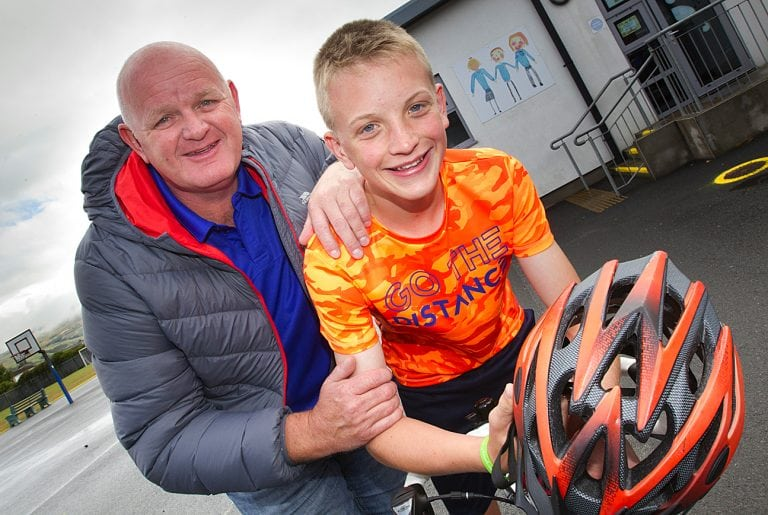 Annalong Football Club holds memorial cycle