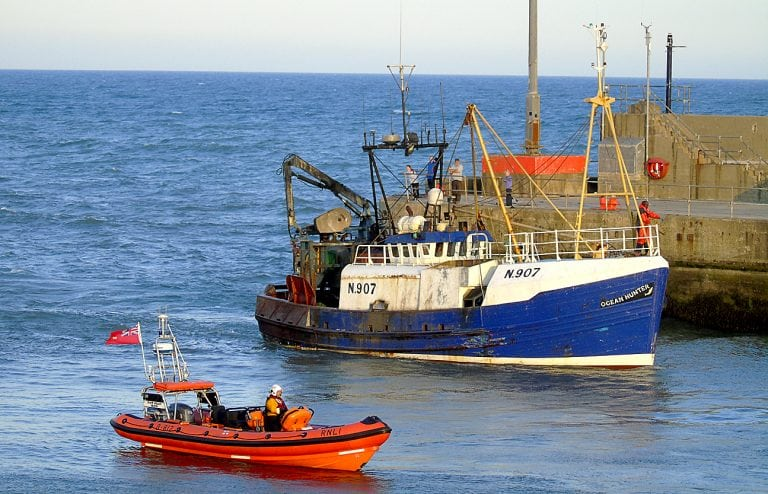Kilkeel RNLI crew comes to the aid of unconscious fisherman