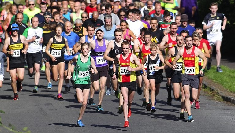 Over 120 competitors take the Slieve Croob Challenge