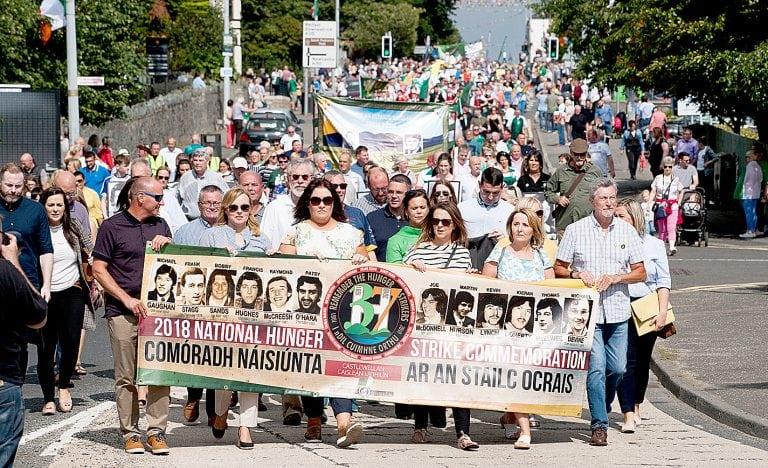 National Hunger Strike Commemoration held in Castlewellan