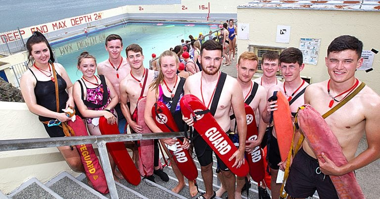 Annual Newcastle Rock Pool Harbour Swim makes a splash