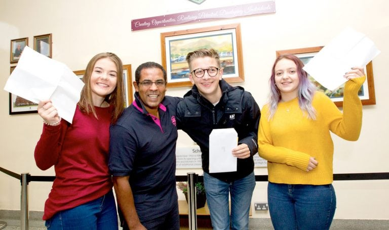 Principals praise pupils for outstanding results