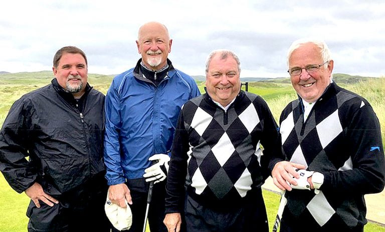 Spa golfers victorious against American visitors