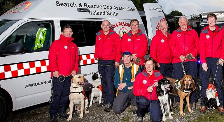 The lifesaving work of search and rescue dogs